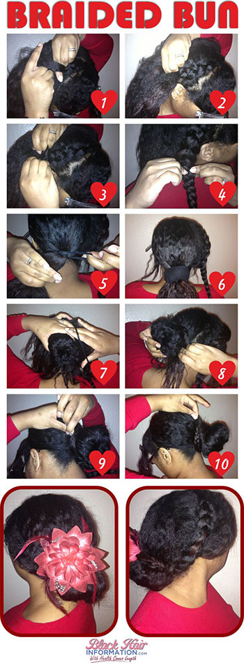 Easy Valentine S Day Hairstyle Tutorials 2014 For