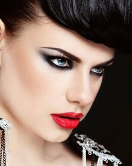 Inspiring-Valentines-Day-Face-Make-Up-2014-For-Girls-10