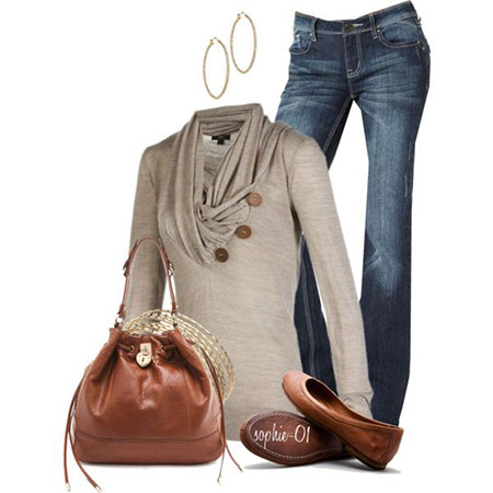 Polyvore latest winter fashion trends dresses ideas for women 2013