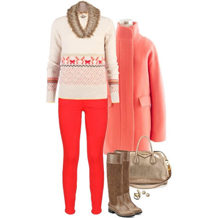 Polyvore Latest Winter Fashion Trends & Dresses Ideas For Women 2014