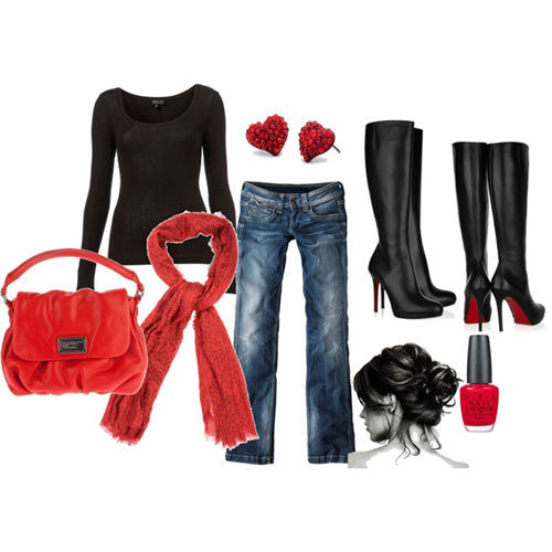 Polyvore-Valentines-Day-Casual-Outfits-For-Girls-Women-2014-15