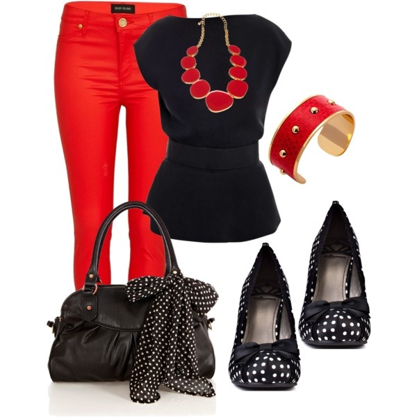Polyvore-Valentines-Day-Casual-Red-Short-Long-Dresses-Ideas-For-Girls-Women-2014-10