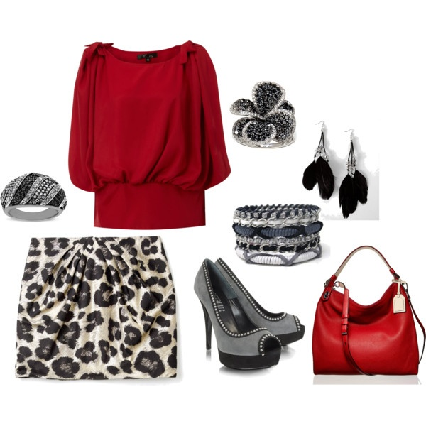Polyvore-Valentines-Day-Casual-Red-Short-Long-Dresses-Ideas-For-Girls-Women-2014-14