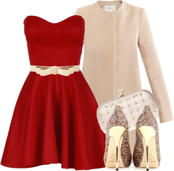 Polyvore-Valentines-Day-Casual-Red-Short-Long-Dresses-Ideas-For-Girls-Women-2014-5