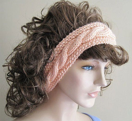 Winter Headbands With Bow, Crochet & Knitting Patterns For ...