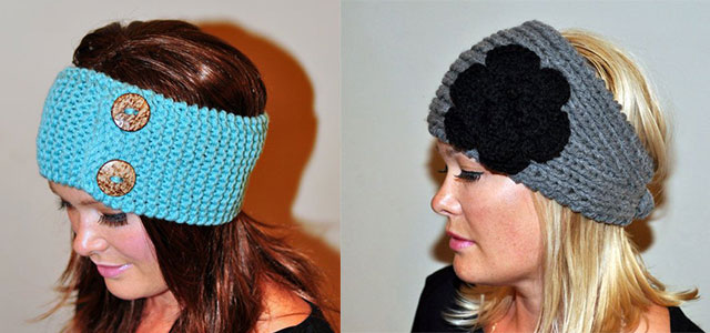 Winter-Headbands-With-Bow-Crochet-Knitting-Patterns-For-Women