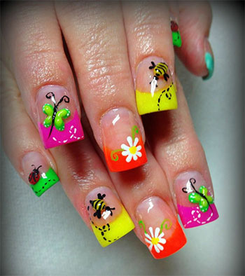 awesome spring nail art designs ideas 2014 girlshue