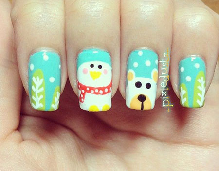 Cool-Winter-Nail-Art-Designs-Ideas-For-Girls-2014-10