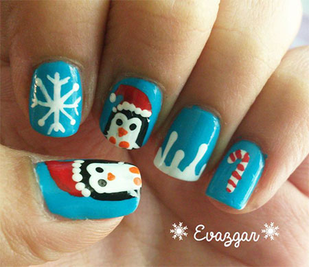 Cool Winter Nail Art Designs Ideas For Girls