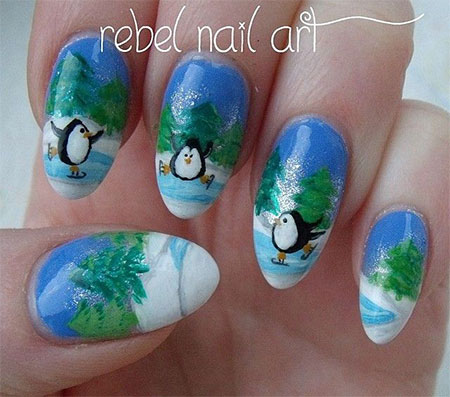 Cool-Winter-Nail-Art-Designs-Ideas-For-Girls-2014-3