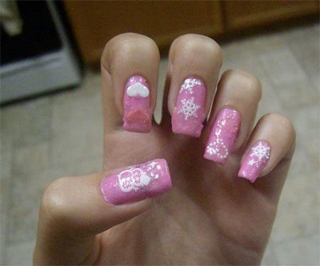Cool-Winter-Nail-Art-Designs-Ideas-For-Girls-2014-4