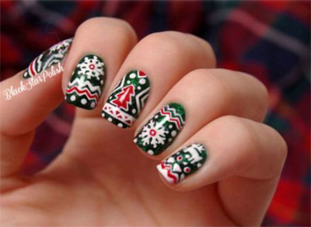 Cool-Winter-Nail-Art-Designs-Ideas-For-Girls-2014-7