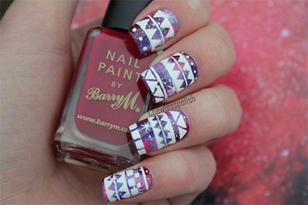 Cool-Winter-Nail-Art-Designs-Ideas-For-Girls- - Girl Nail — Cool Winter Nail Art Designs & Ideas For Girls...