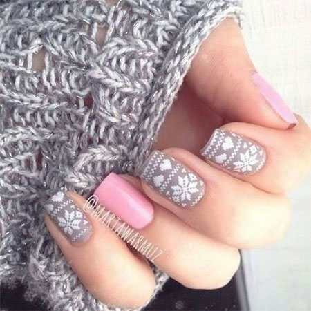 Cool-Winter-Nail-Art-Designs-Ideas-For-Girls-2014-9