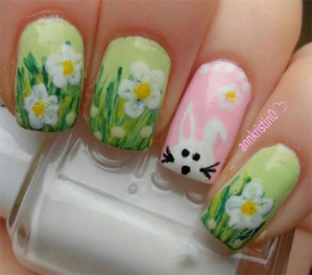 Amazing Easter Nail Art Designs Ideas Trends 2014 1 Amazing Easter Nail Art Designs, Ideas & Trends 2014