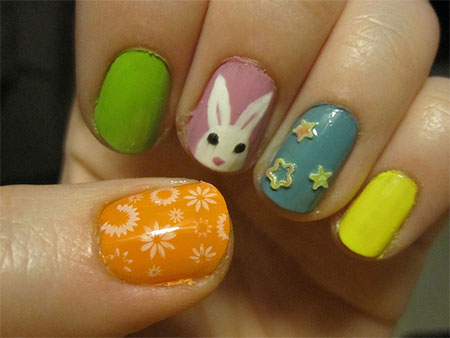 Amazing Easter Nail Art Designs Ideas Trends 2014 10 Amazing Easter Nail Art Designs, Ideas & Trends 2014