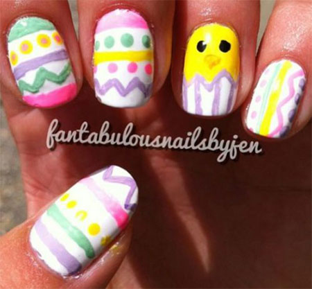 Amazing Easter Nail Art Designs Ideas Trends 2014 13 Amazing Easter Nail Art Designs, Ideas & Trends 2014