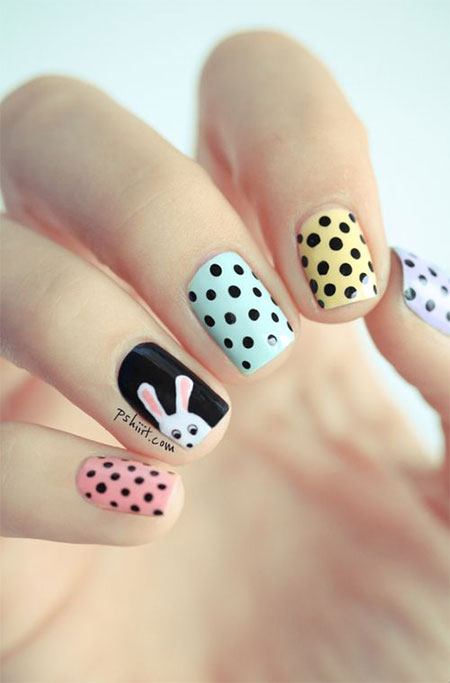 Amazing Easter Nail Art Designs Ideas Trends 2014 14 Amazing Easter Nail Art Designs, Ideas & Trends 2014