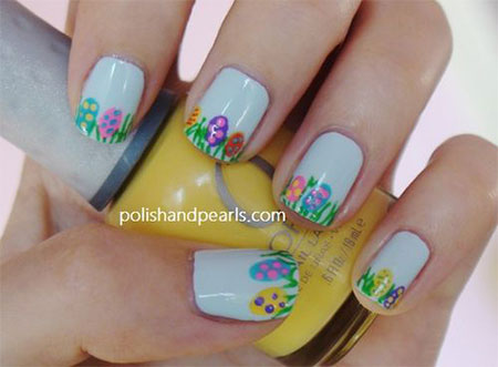 Amazing Easter Nail Art Designs Ideas Trends 2014 2 Amazing Easter Nail Art Designs, Ideas & Trends 2014