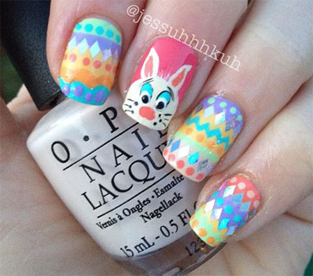 Amazing Easter Nail Art Designs Ideas Trends 2014 3 Amazing Easter Nail Art Designs, Ideas & Trends 2014