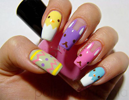 Amazing Easter Nail Art Designs Ideas Trends 2014 4 Amazing Easter Nail Art Designs, Ideas & Trends 2014