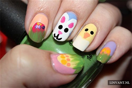 Amazing Easter Nail Art Designs Ideas Trends 2014 5 Amazing Easter Nail Art Designs, Ideas & Trends 2014