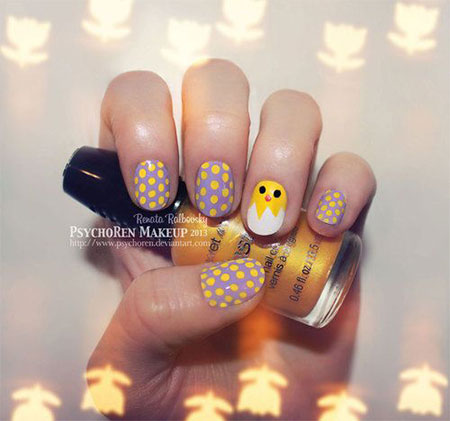 Amazing Easter Nail Art Designs Ideas Trends 2014 6 Amazing Easter Nail Art Designs, Ideas & Trends 2014