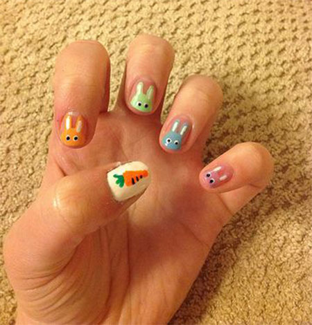 Amazing Easter Nail Art Designs Ideas Trends 2014 7 Amazing Easter Nail Art Designs, Ideas & Trends 2014