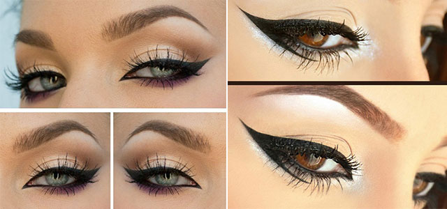 Best-Liquid-Cat-Eye-liner-Styles-Trends-Ideas-For-Girls-2014