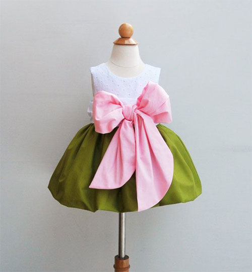 Cute-Birthday-Dresses-Ideas-For-Baby-Girls-Kids-2014-2