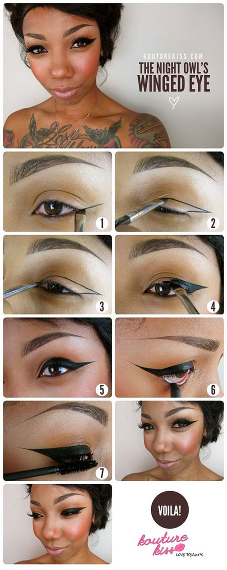Easy-Step-By-Step-Eye-liner-Tutorials-2014-For-Beginners-Learners-1