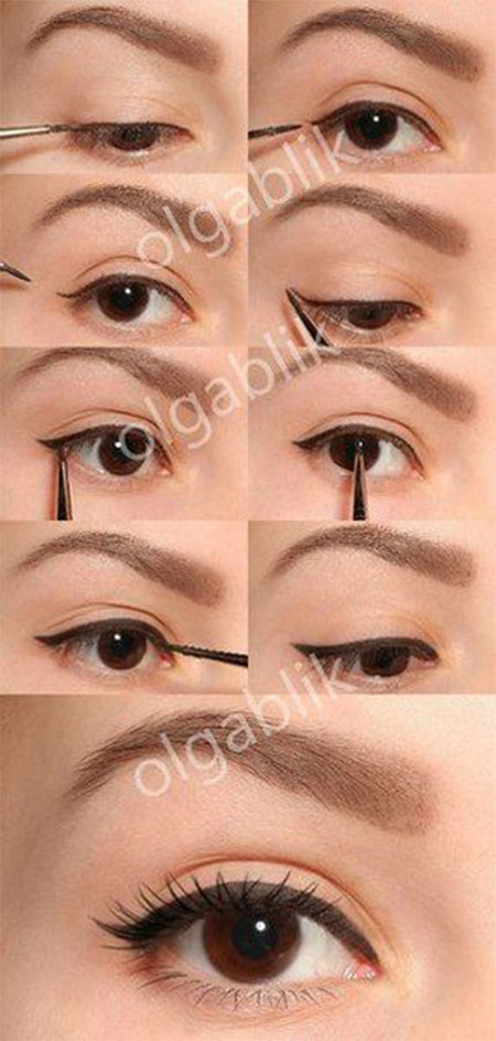 Easy-Step-By-Step-Eye-liner-Tutorials-2014-For-Beginners-Learners-5