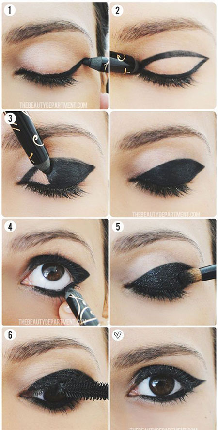 Easy-Step-By-Step-Eye-liner-Tutorials-2014-For-Beginners-Learners-7