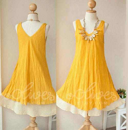 Elegant Easter Dresses For Ladies Women 2014 1 Elegant Easter Dresses For Ladies & Women 2014