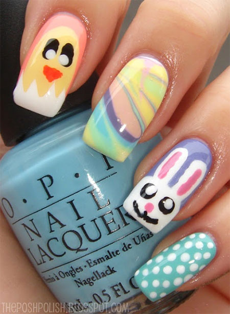 Elegant-Easter-Themed-Nail-Art-Designs-Ideas-Trends-2014-15