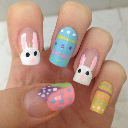 Easter themed nail art image collections nail art and nail 100 prinsesfo Choice Image