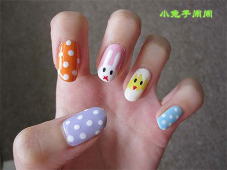 Elegant-Easter-Themed-Nail-Art-Designs-Ideas-Trends-2014-3