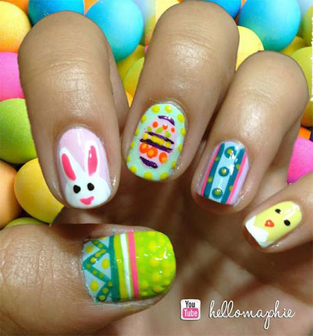Elegant-Easter-Themed-Nail-Art-Designs-Ideas-Trends-2014-5