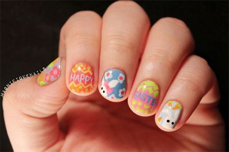 Elegant-Easter-Themed-Nail-Art-Designs-Ideas-Trends-2014-8