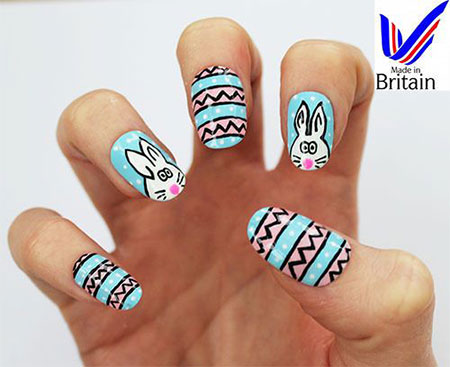 Elegant-Easter-Themed-Nail-Art-Designs-Ideas-Trends-2014-9