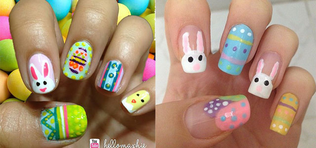 Elegant-Easter-Themed-Nail-Art-Designs-Ideas-Trends-2014
