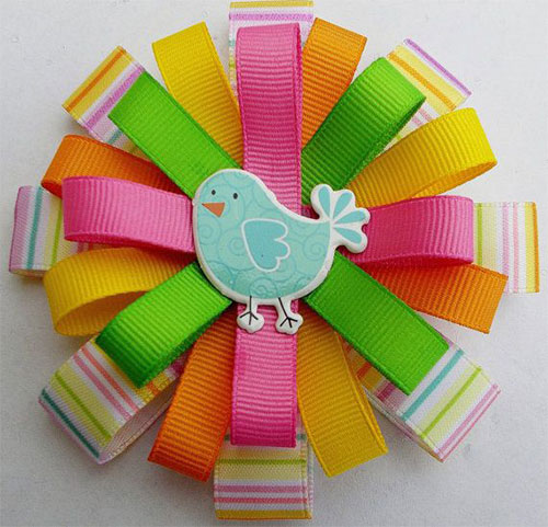 Smashing-Easter-Hair-Bows-For-Kids-Girls-2014 -Hair-Accessories-7