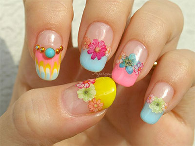 15  pretty  cool summer nail art designs ideas trends