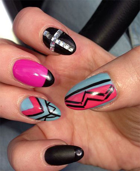 100-Best-Acrylic-Nail-Art-Designs-Ideas-Trends-Stickers-Wraps-2014-14