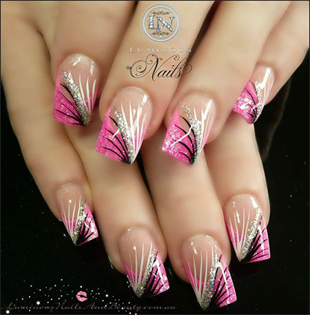 100-Best-Acrylic-Nail-Art-Designs-Ideas-Trends-Stickers-Wraps-2014-53