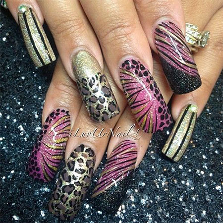 100-Best-Acrylic-Nail-Art-Designs-Ideas-Trends-Stickers-Wraps-2014-59
