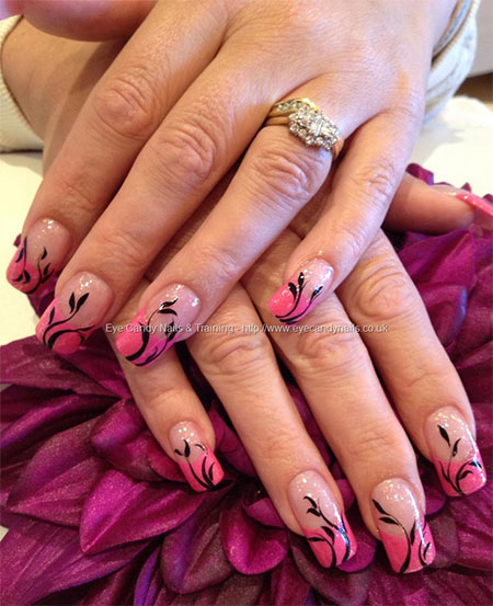 100-Best-Acrylic-Nail-Art-Designs-Ideas-Trends-Stickers-Wraps-2014-76