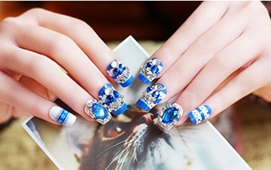 100+ Best Acrylic Nail Art Designs, Ideas ,Trends, Stickers ...