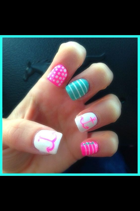 100+ Best Acrylic Nail Art Designs, Ideas ,Trends, Stickers & Wraps 2016 7