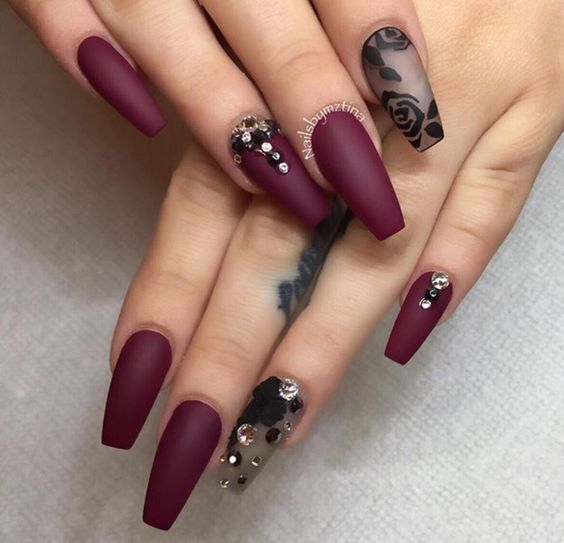 100+ Best Acrylic Nail Art Designs, Ideas ,Trends, Stickers & Wraps 2016